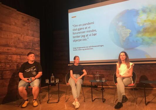 Presentasjon og paneldebatt på Litteraturhuset i Bergen