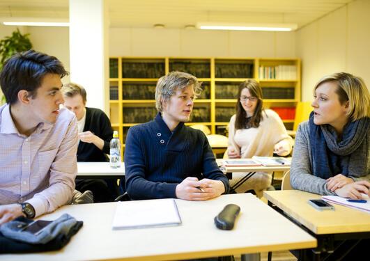 Studenter ved Institutt for økonomi