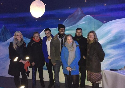UEA-studenter i Bergen