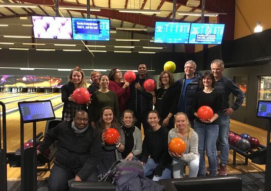Bowling med Miljøtoksikologigruppen