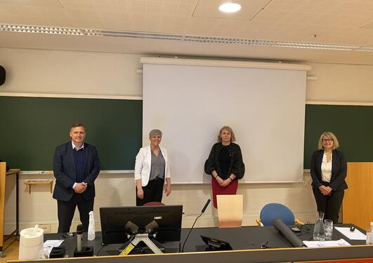 Ivar Lunde, Beate Huså, Zuzana Murdoch og Alfa Winge
