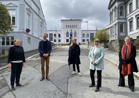 Lise Rakner, Jacob Aars, Lise H. Rykkja, Ragnhild Muriaas og Elisabeth Ivarsflaten