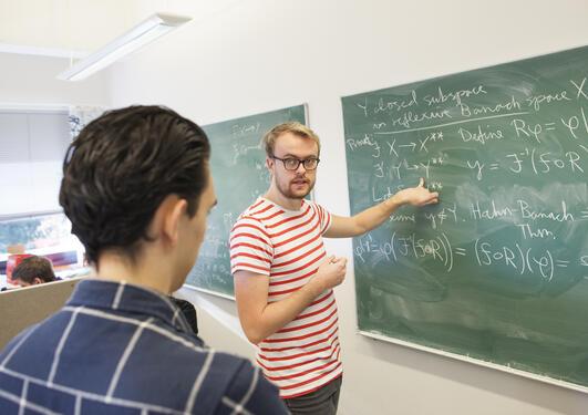 Masterstudenter i matematikk