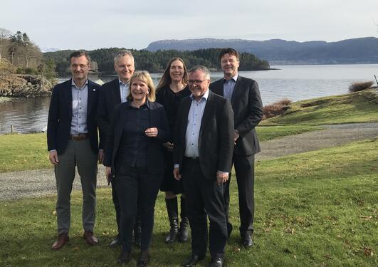 UDIRBOTT og DFØ samlet på Solstrand