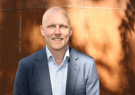 Prosjektleder Kristian Blindheim