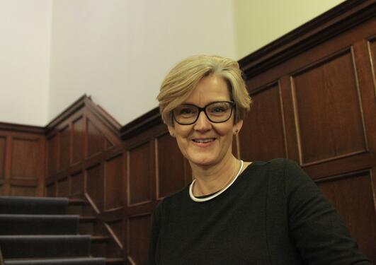 Prorektor Anne-Lise Fimreite