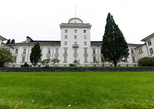 Fasaden til Geofysisk institutt