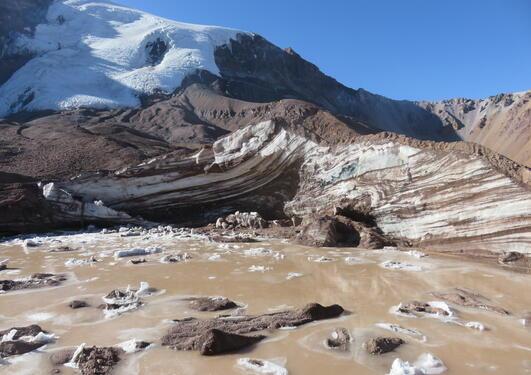 Topado glacier