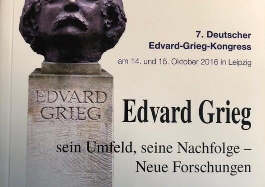 Grieg conference proceedings Leipzig 2018