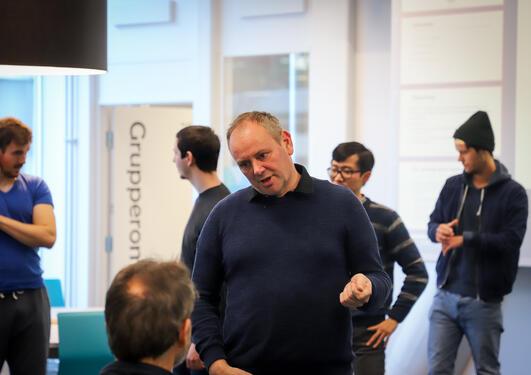 Lars Nyre innovasjonspedagogikk for medieutdanninger