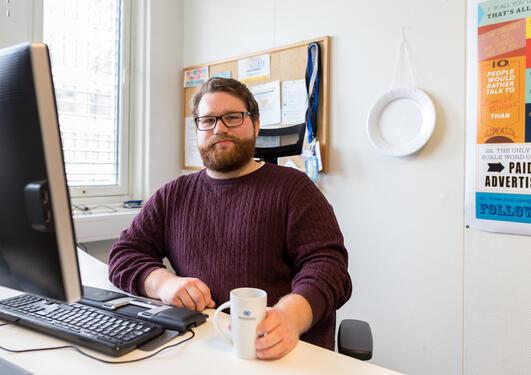 Praksisstudent Karl S. Vika