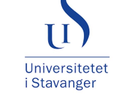Logo Universitetet i Stavanger - en liten U og en stor S
