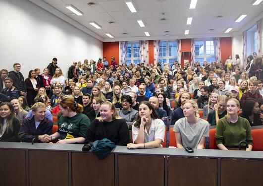 Informasjonsmøte i auditorium A