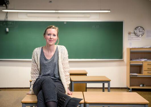 Bilde av lektor Inger-Hanne