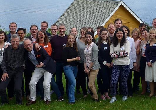 Deltagere fra KGJN ved Solstrand