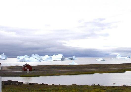 Frå sommerskolen for kommande klimaforskarar på Grønland 2014.