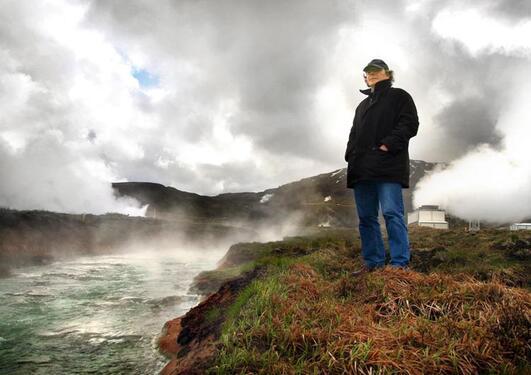 Terje Tvedt on Iceland