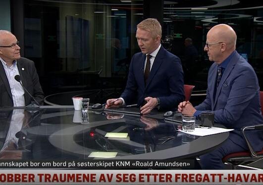 Jarle Eid ble intervjuet av TV2 Nyhetsmorgen