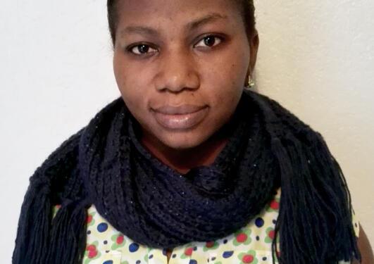Master Student Joanna Amiteye.