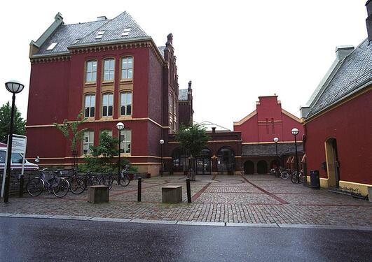 Bilde av inngangspartiet til Dragefjellet.
