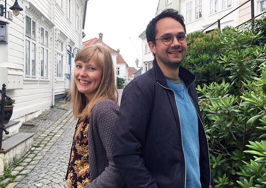 Osmund og Kaja er nye undervisningsassistenter på sosialantropologi