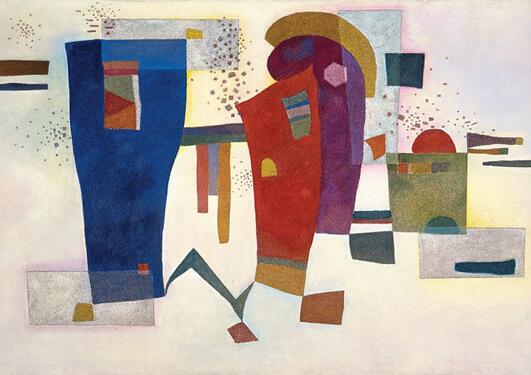 """Kandinsky, """"Accompanied Contrast"""""""