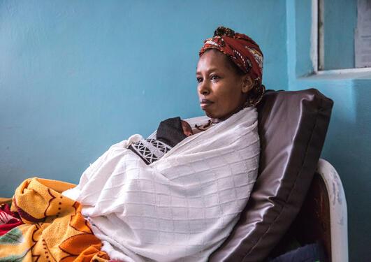 Kangaroo Mother Care Ethiopia.