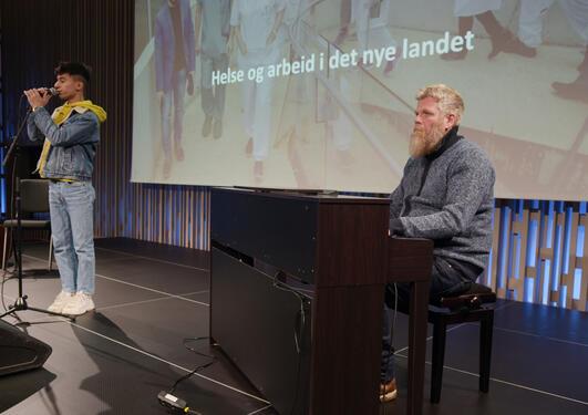 Shervan Khalil og Viggo Krüger.