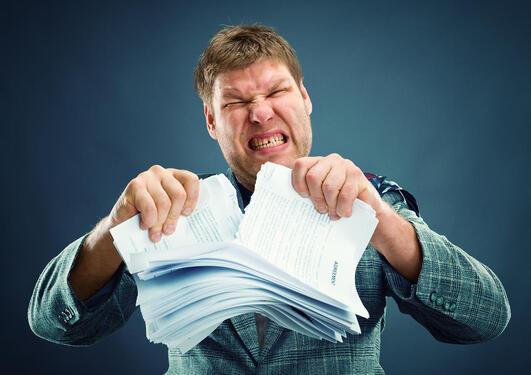 Når man ikke er enig med resultatet på eksamen