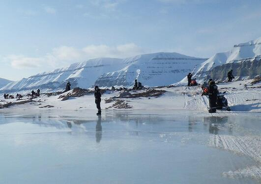 Forskere i Arktis