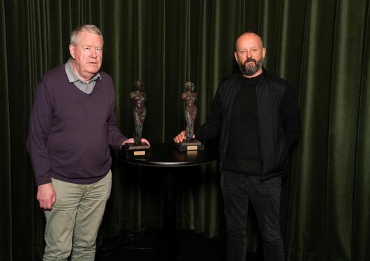 Heddakomiteen sin ærespris for 2020 går til professor Knut Ove Arntzen og teatersjef Sven Åge Birkeland.