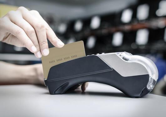 kort terminal for bankkort