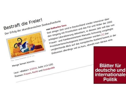 www.blaetter.de