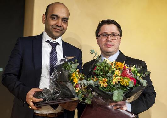 Meltzerprisen 2017 - Ignacio Herrera Anchustegui og Kundan Kumar