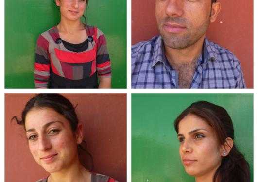 kurdiske ungdommer