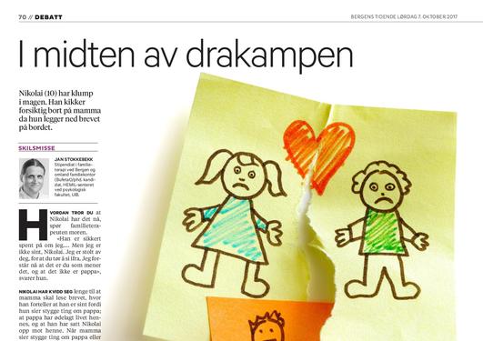 Stipendiat Jan Stokkebekk skriver en kronikk i BT