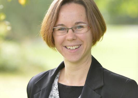 Portrett av Karin Landschulze