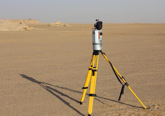 Riegl VZ-1000 Terrestrial laser scanner