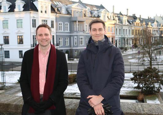 Bilde av Pål Antonsen og Ole Hjortland