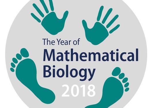 Year of Mathematical Biology 2018 logo