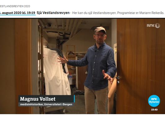 Medisinske historie på Vestlandsrevyen