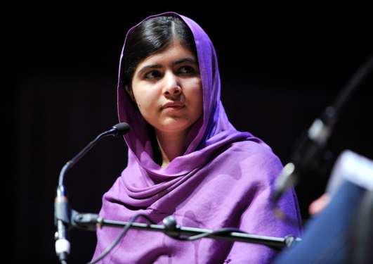 Fredsprisvinner Malala Yousafzai