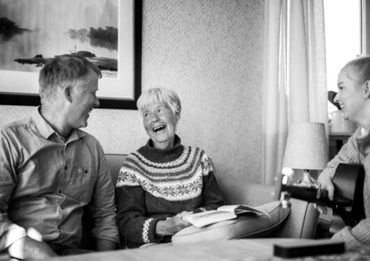 Fotoutstilling, demens