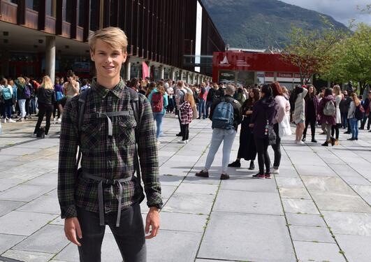 Ny masterstudent i Bergen