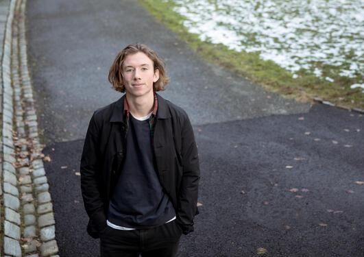 Bilde av student som tar bachelor i klima, atmosfære- og havfysikk