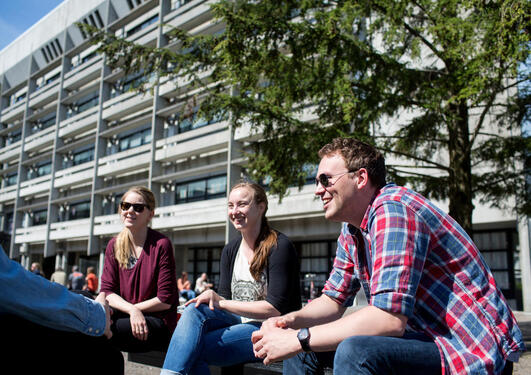Studentar på MN-fakultetet