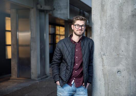 Sven I. Bokn, student ved matematikk