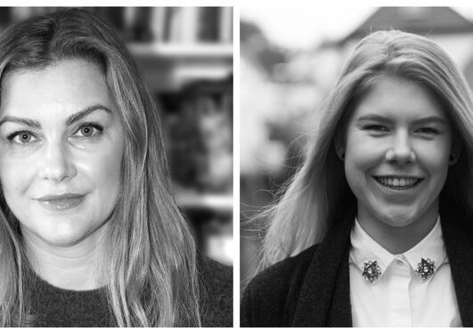 Bilde av May-Helene Gram Franck og Maria Kråkenes