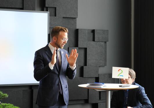 Digitaliseringsminister Nikolai Astrup