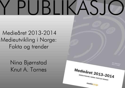 Ny publikasjon fra medienorge